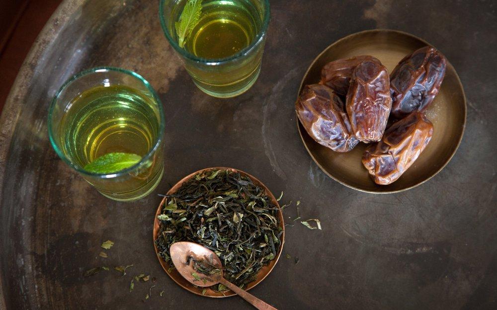 Moroccan Jasmine Mint Tea -