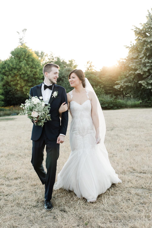 Garden Wedding UBC Botanical Gardens Sarah & Tristan