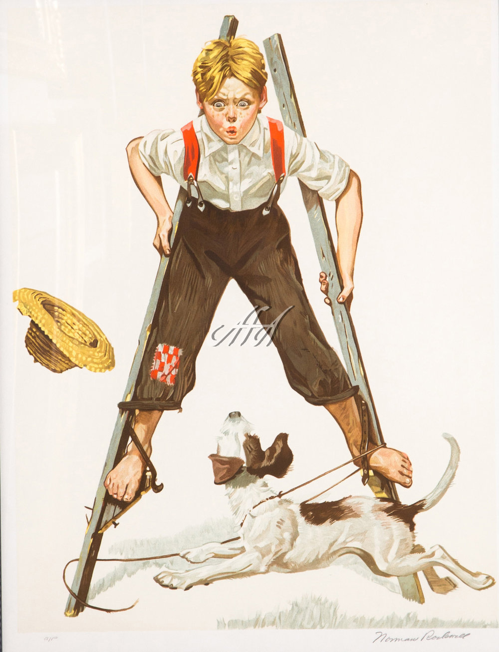 Norman_Rockwell_boy_on_stilts LoRes watermark.jpg