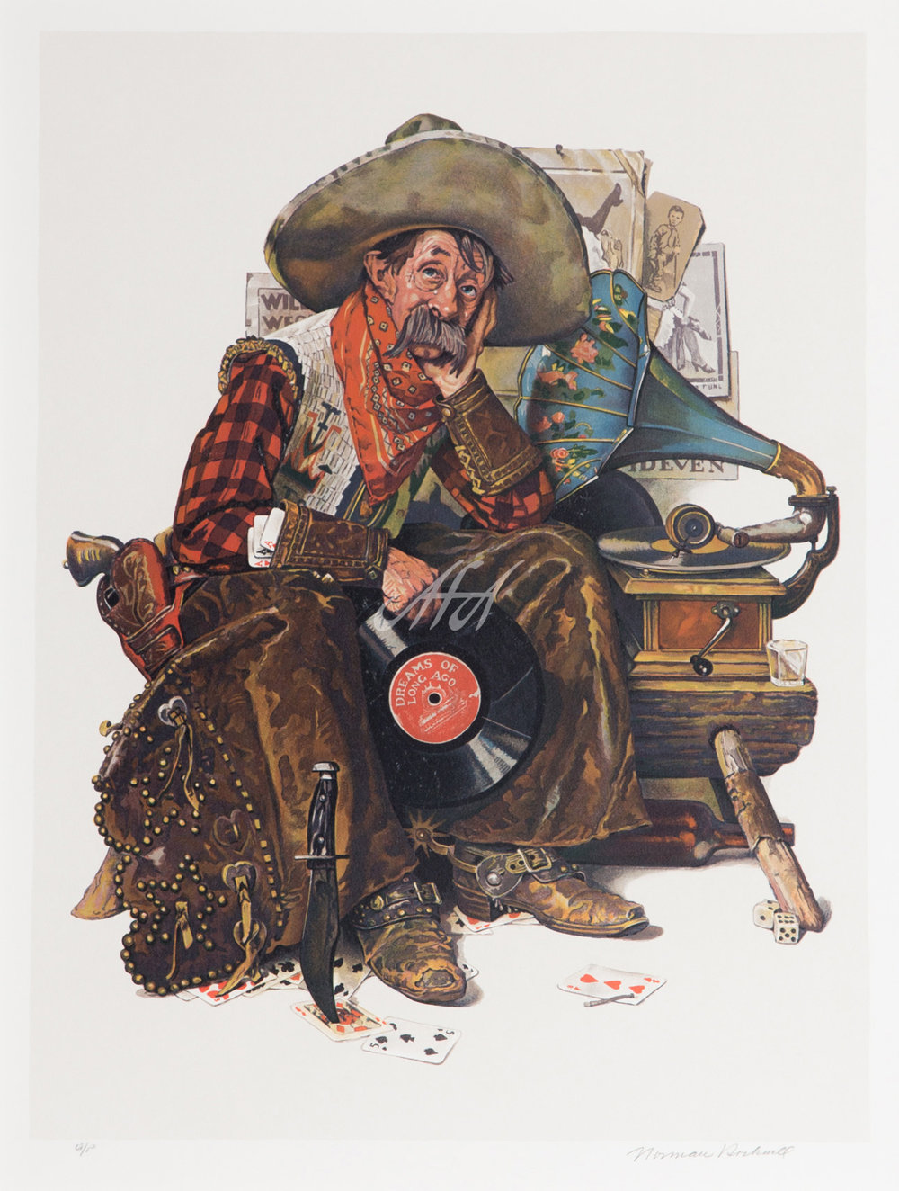 Norman_Rockwell_cowboy_Dreams_of_long_ago LoRes watermark.jpg
