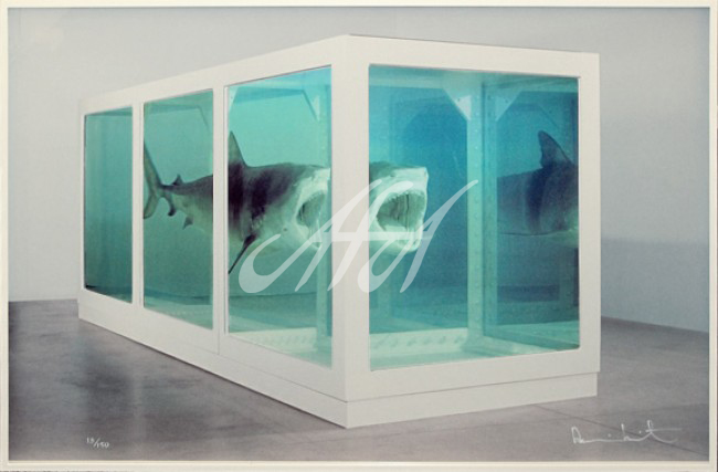 Damien Hirst - The Physical Impossibility of Death in the Mind of Someone Living (Lenticular) watermark.jpg