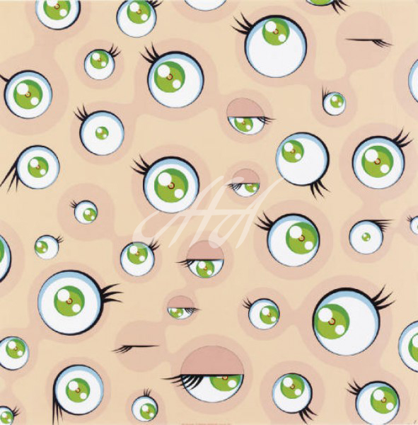 Takashi Murakami - Jellyfish Eyes (Tan) watermark.jpg