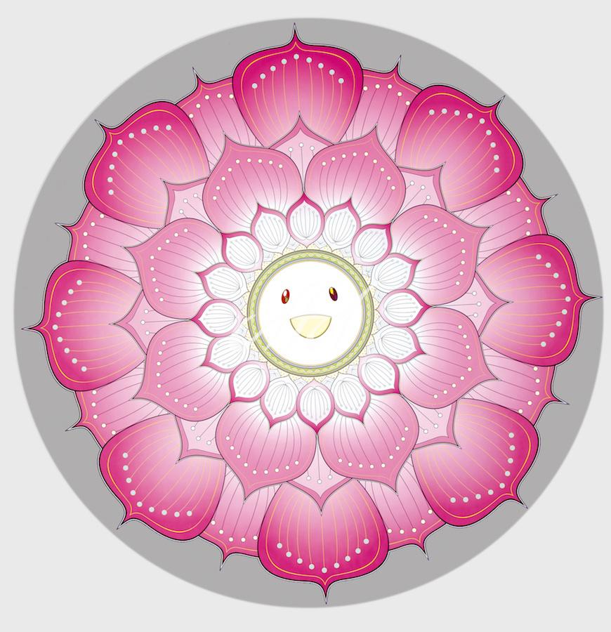 Takashi Murakami - Lotus Flower - Pink watermark.jpg