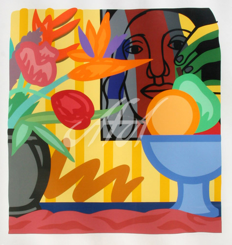 Tom Wesselmann - Mixed Bouquet with Leger watermark.jpg