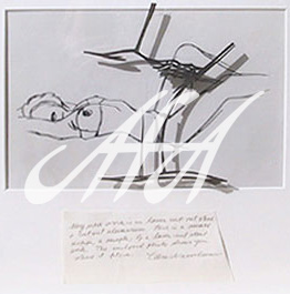 Tom Wesselmann - Steel Drawing Edition - Amy Reclining watermark.jpg