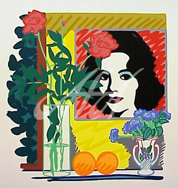 Tom Wesselmann - Still Life with Liz (Warhol) watermark.jpg
