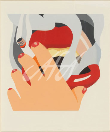 Tom Wesselmann - The Smoker watermark.jpg