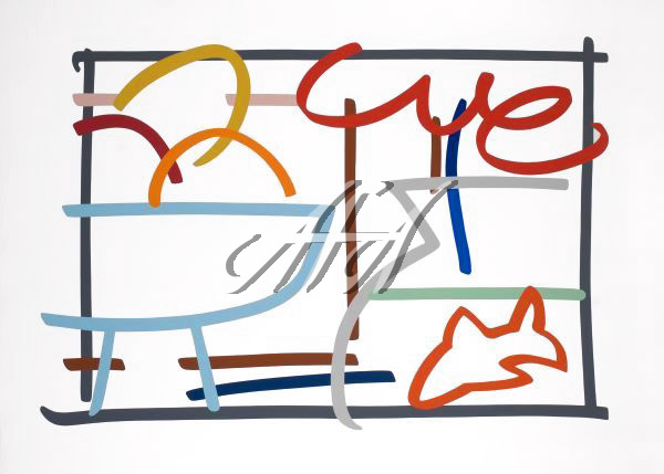 Tom Wesselmann - Fast Sketch Still Life with Goldfish watermark.jpg