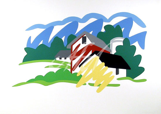 Tom Wesselmann - House and Barn in the Distance watermark.jpg