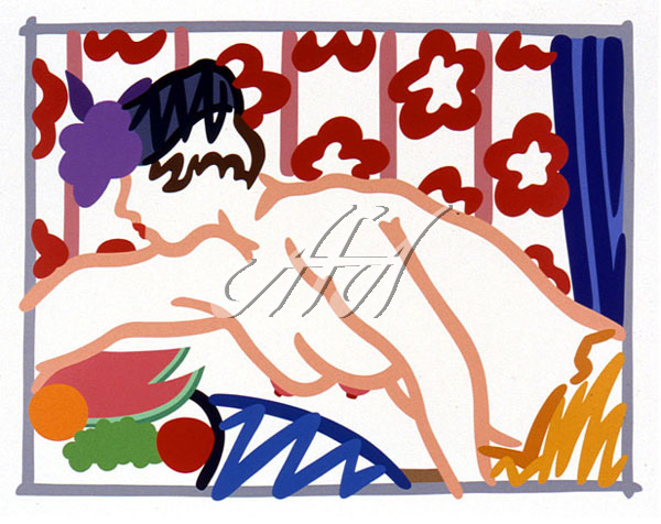 Tom Wesselmann - Judy Reaching Over Table watermark.jpg