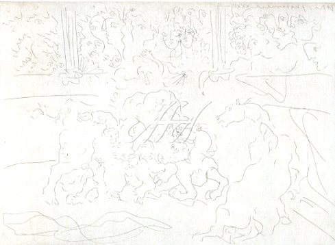 Picasso_Vollard_Bull and horses in the arena watermark.jpg