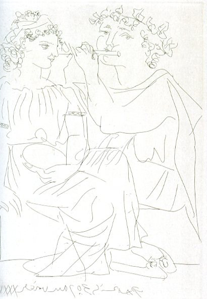 Picasso_Vollard_Flutist and a young girl with tambourine watermark.jpg