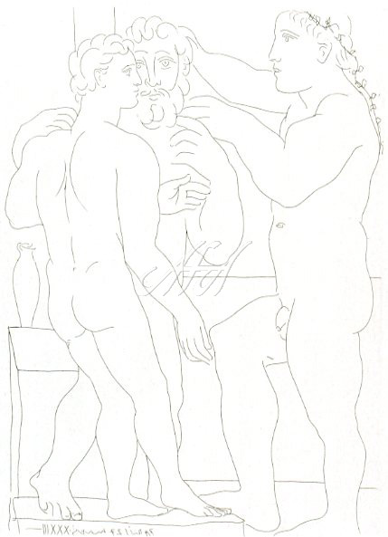 Picasso_Vollard_Sculptor and two male sculptures watermark.jpg