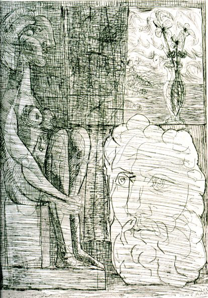 Picasso_Vollard_Sculptures and a vase of flowers watermark.jpg