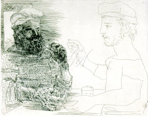 Picasso_Vollard_Two Catalan drinkers watermark.jpg