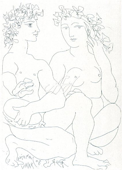 Picasso_Vollard_Young couple, crouching man with tambourine watermark.jpg