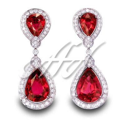 Red two tier earrings watermarked.jpg