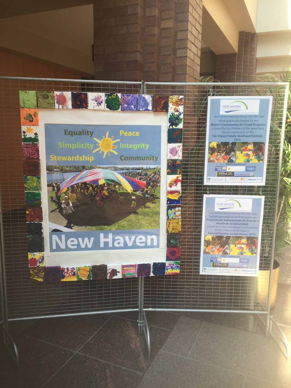 New Haven City Hall Display