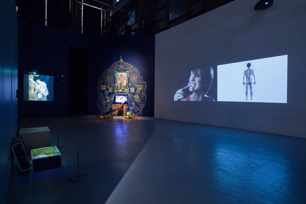 Projected personae - New media artists explore the self through identity construction at SOMArts Cultural Center