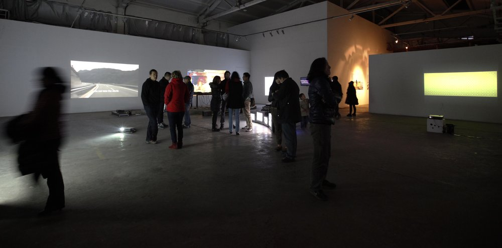 Group exhibition  Electronic Pacific  at Fei Contemporary Art Center, Shanghai, China.