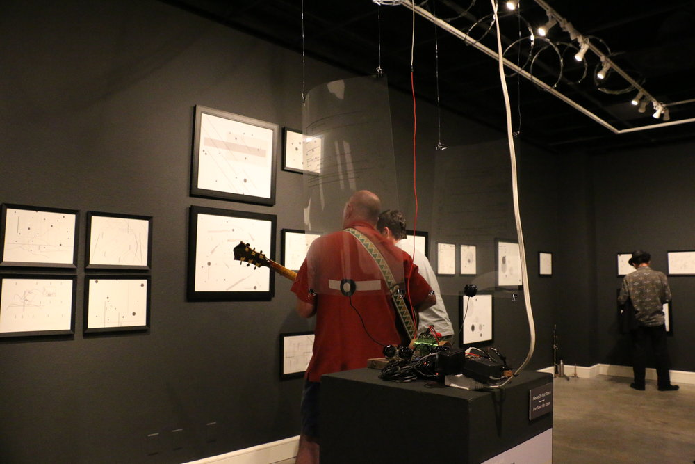 Soundscapes - Artist designed sonic installation at the Santa Cruz Museum of Art and History