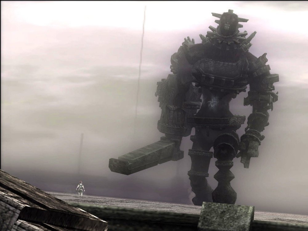 From the game, Shadow of the Colossus