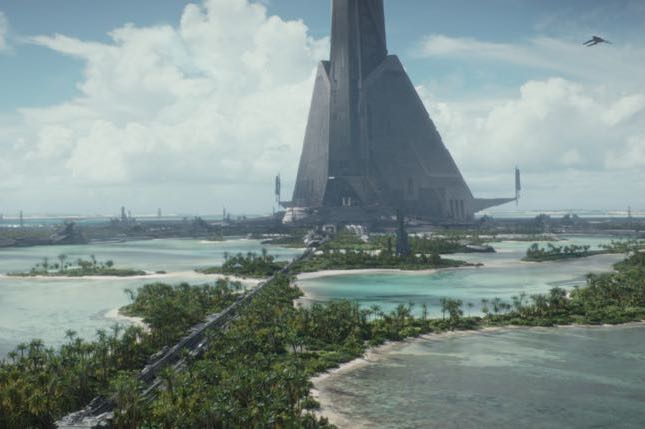 Scarif - Photo credit: Lucasfilm/ILM    ©2016 Lucasfilm Ltd. All Rights Reserved.