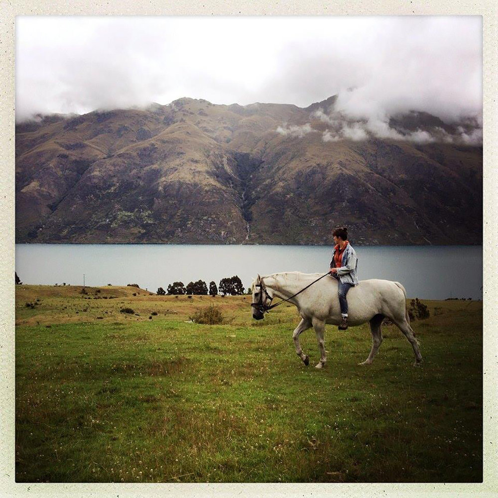 Sophie Scott Lake Wakatipu, New Zealand