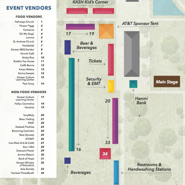PARKING & FESTIVAL MAP -