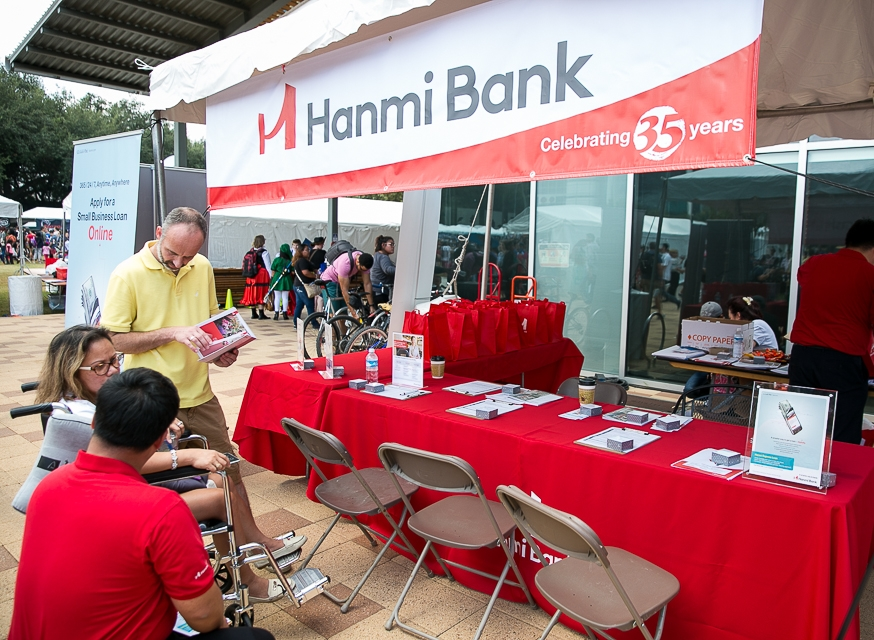 Hanmi Bank - Sponsor Booth