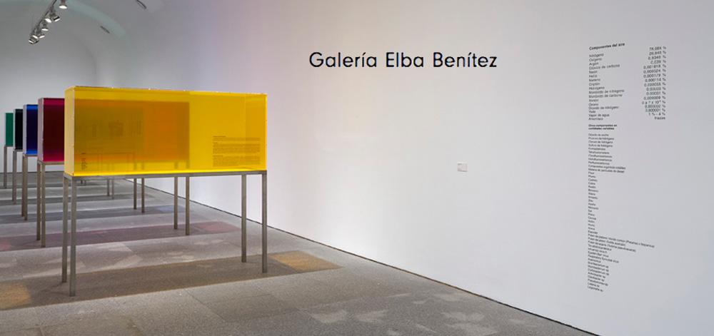 GALERÍA ELBA BENÍTEZ Madrid, SPAIN