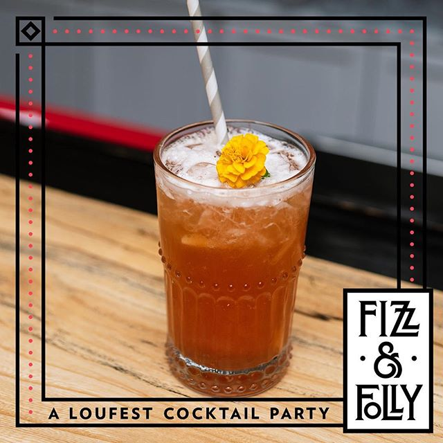 {DOWN TO RIDE} @rebelyellbourbon + Strawberry + Ginger + Lemon + Iced Tea ... You can find this cocktail at all of the #fizzandfolly satellite bars @loufest this weekend! 📸 @whiskeyandsoba