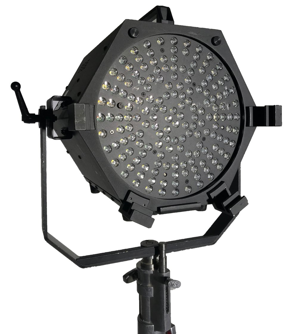 BI-COLOR GRID - With one or more BriteShot Luminator® (AW) Grid's you can replace traditional incandescent HMIs, 2Ks, 4Ks, studio flood and spot lights; all while saving on energy and cooling costs, set up and break down time and keeping the talent cool and comfortable.