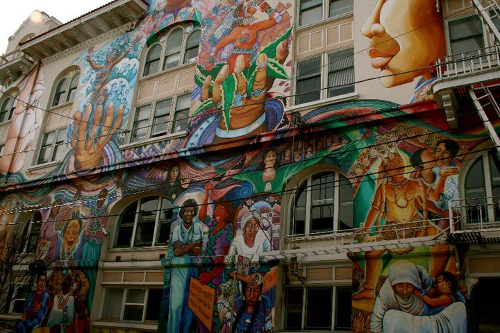 Women's Building in Mission, which housed my internship office.