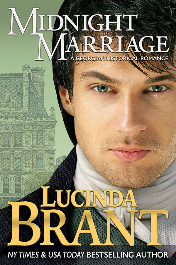 Midnight Marriage by Lucinda Brant—book cover