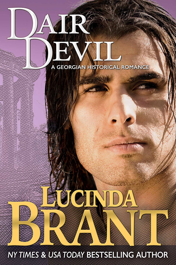 Dair Devil by Lucinda Brant—book cover