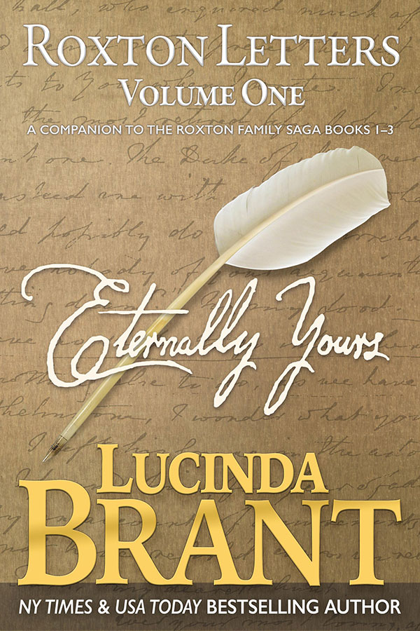 Eternally Yours by Lucinda Brant—book cover