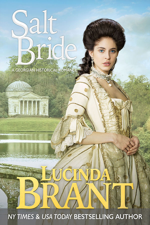 Salt Bride by Lucinda Brant—book cover