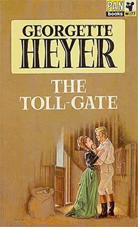 The Toll Gate by Georgette Heyer—PAN cover art
