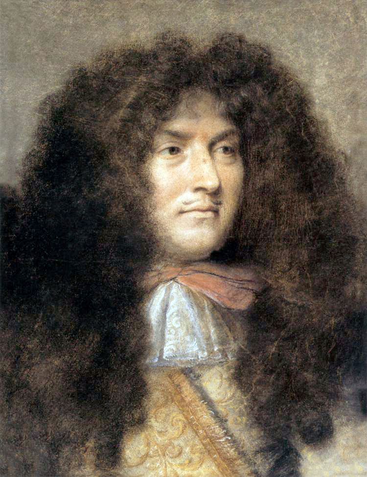 Le Brun, Charles (1619c.-1690), Portrait of Louis XIV (Louvre, Paris)