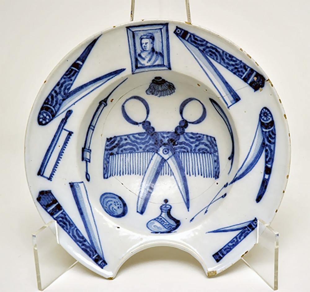 Barber's bowl, 1750, France