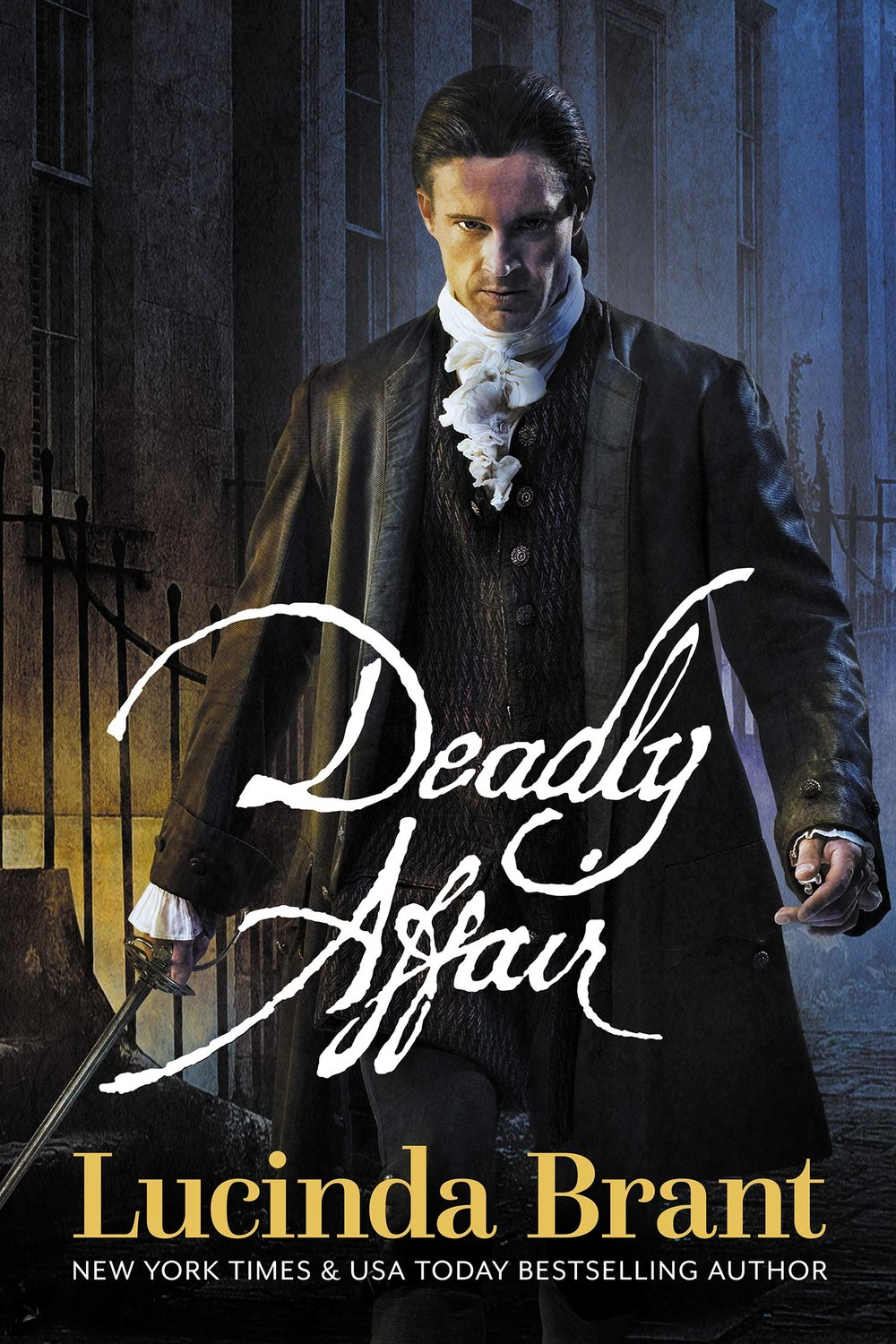 Deadly Affair: A Georgian Historical Mystery (Alec Halsey Mystery Book 2) by Lucinda Brant