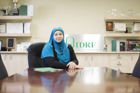 Farheen, IDRF Headquarters, Toronto