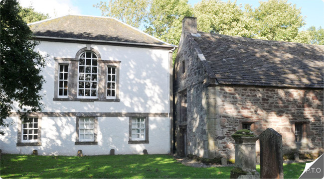 The Library of Innerpeffray, nr Crieff