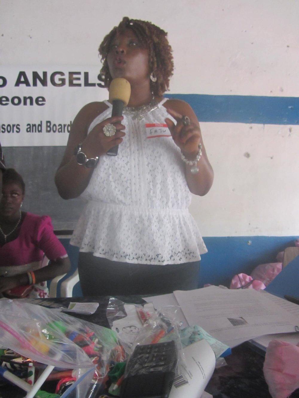Fatu Quinie Sesay (Bangura)