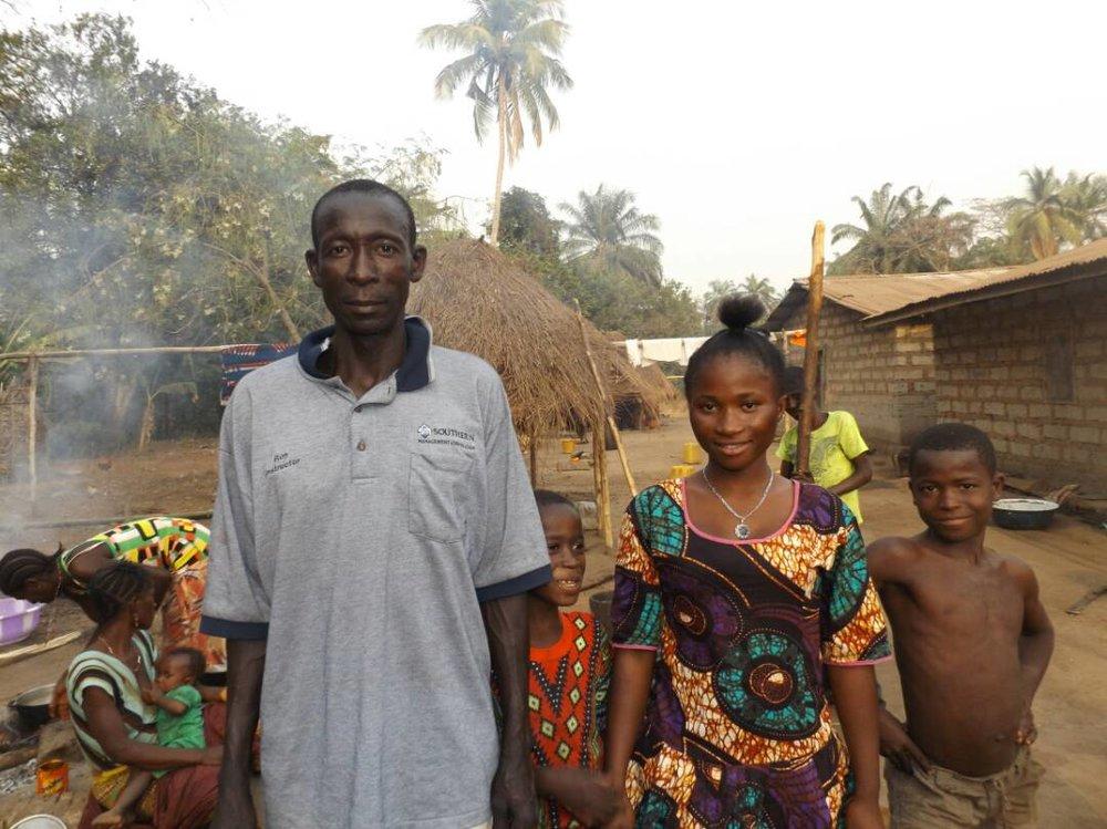 Bangura,Marian and dad.JPG