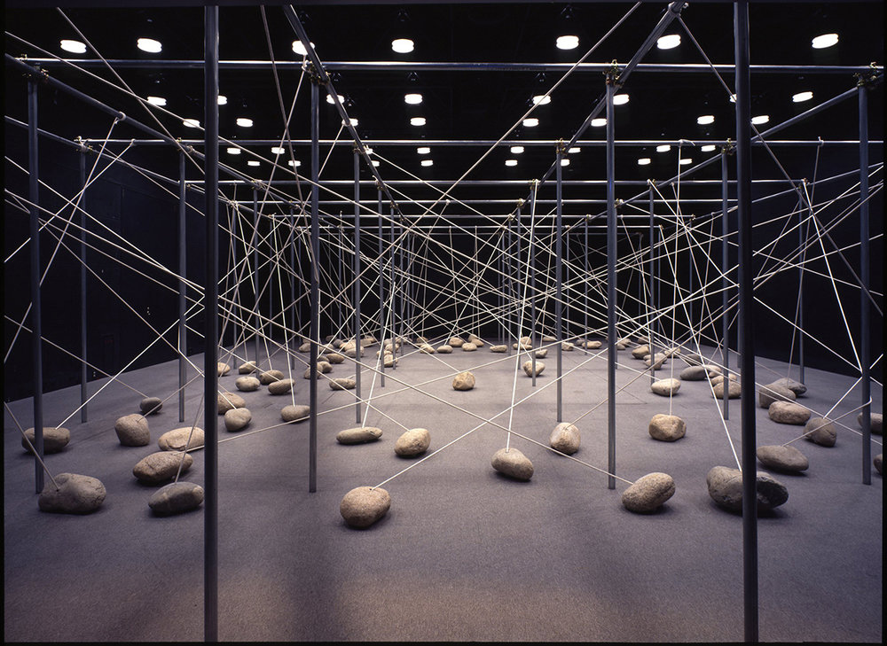 Law of Peripheral Units , 1997. Installation view at the Hiroshima City Museum of Contemporary Art, Hiroshima, 1997