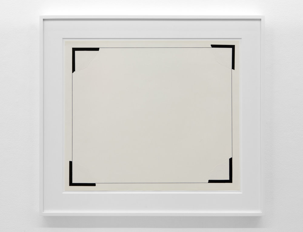 To Place , 1975 Magic marker on paper 21 1/4 x 24 7/8 inches 54 x 63.2 centimeters