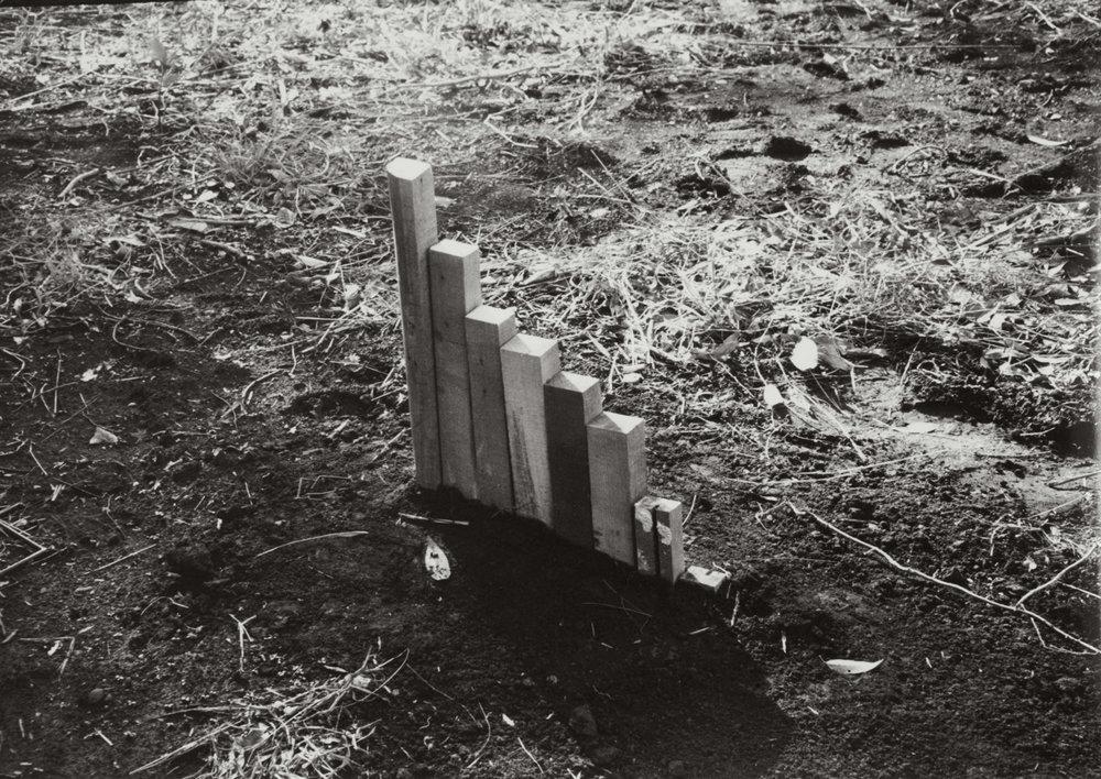 Remaining Locating , 1975 留位地 ( Ryūichi ) C-print 7 7/8 x 11 1/8 inches 20 x 28.2 centimeters