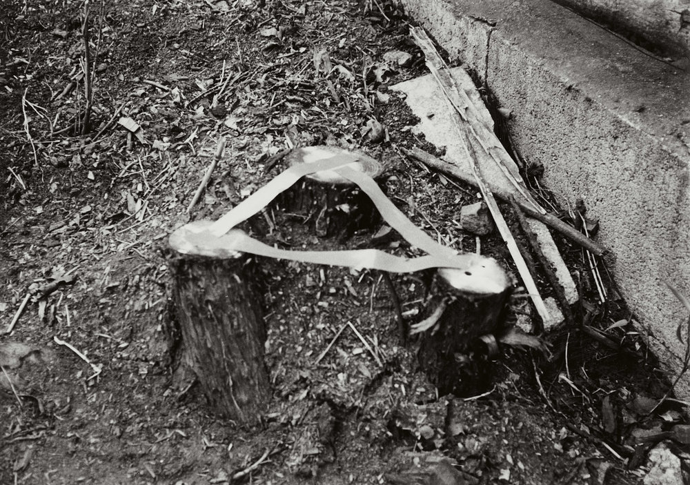 Remaining Space , 1975 間留 ( Kanryū ) C-print 7 7/8 x 11 1/8 inches 20 x 28.4 centimeters